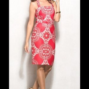 Lovely By Adrianna Papell Paisley Shift Dress